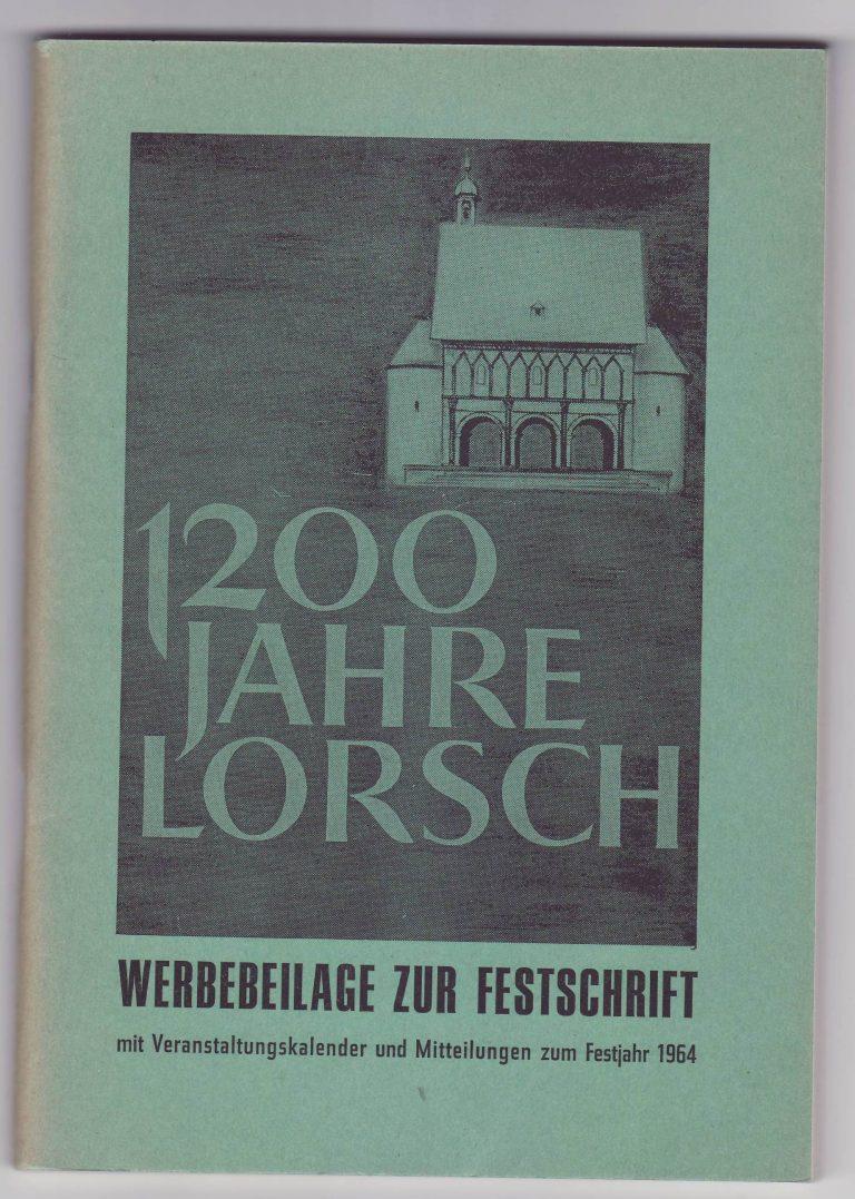 1964 - 1200 Jahre Lorsch