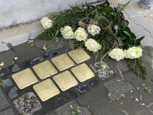 Stolpersteine Oppenheimer verlegt