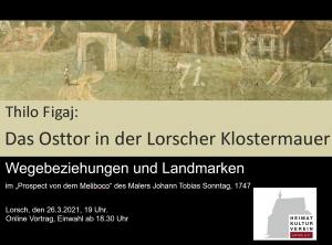 Online Vortrag - Das Osttor in der Lorscher Klostermauer